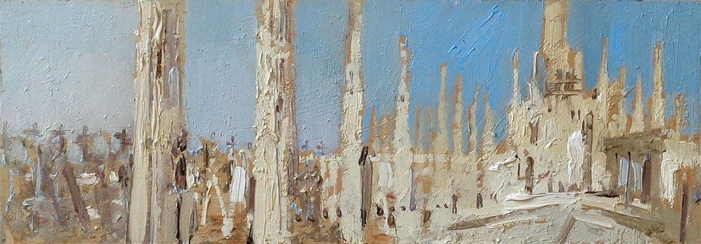 Вероника Лобарева. Миланский кафедральный собор (2016))