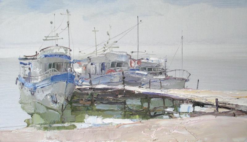 Вероника Лобарева. Байкал. Бухта Песчаная. (2012 г.)