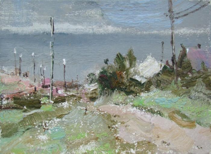 Вероника Лобарева. Гроза на Байкале. (2009)
